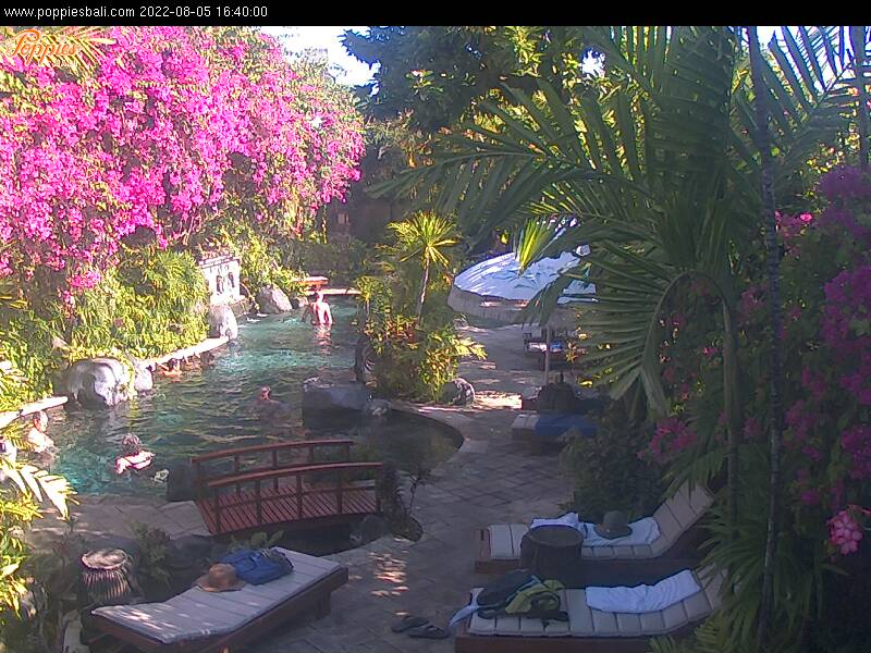 Sri Lanka webcam from The Poppies Resort